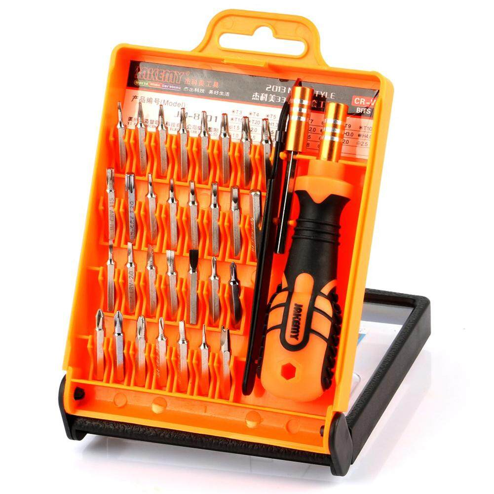JAKEMY JM-8101 33 in1 Multifunctional Precision Screwdriver Set For iPhone Laptop Mini Electronic Screwdriver Bits Repair Tools Kit Set
