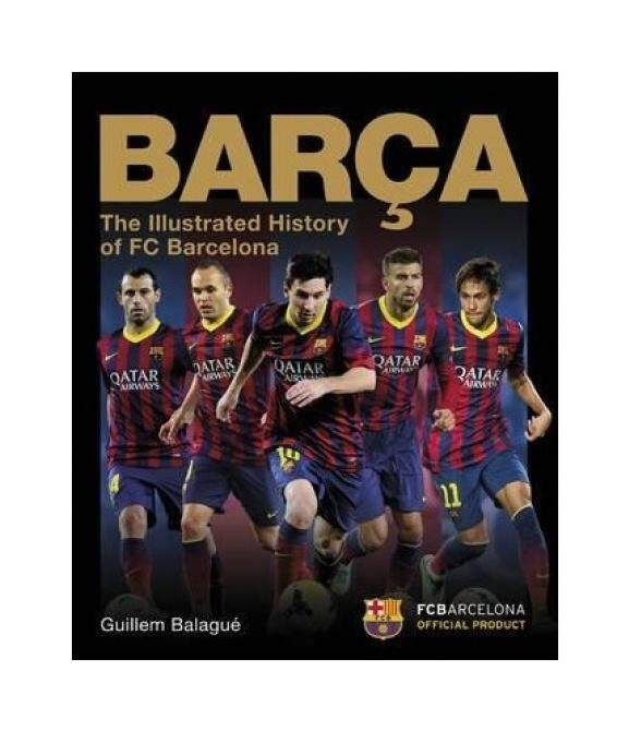 Barca, The Official Illustrated History - intl