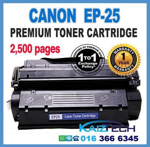 Premium Canon EP25 / EP-25 / EP 25 Compatible Toner Cartridge For Canon LBP-1210 / LBP1210 Printer