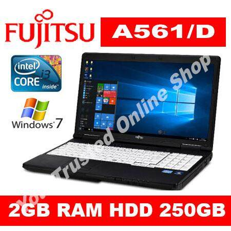 (REFURBISHED) Laptop FUJITSU Intel i3 2GB DDR3 15 250GB HDD Malaysia