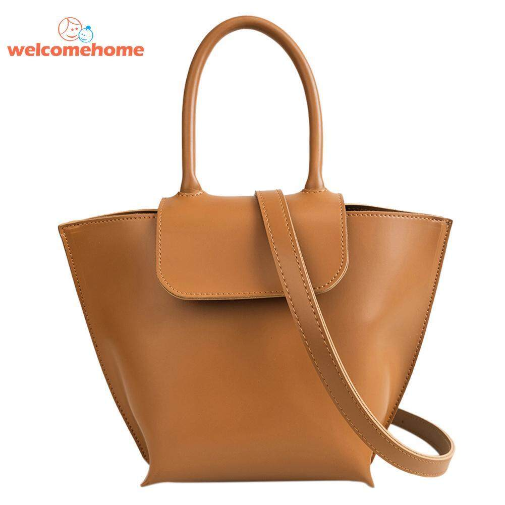 Pure Women Casual Totes Shoulder Messenger Bags PU Leather .