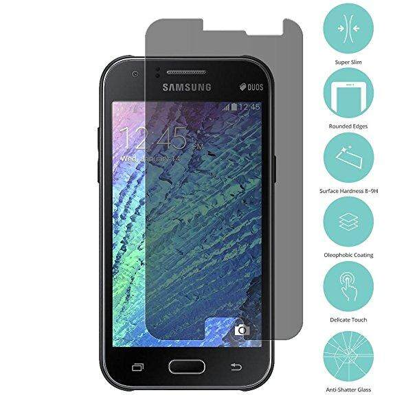 Samsung J1 Ace J110 Privacy Tempered Glass Screen Protector