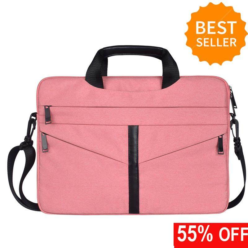 13.3/14.1/15.4/15.6 Inch Laptop Briefcase Protective Messenger Bag Nylon Shoulder Bag Multi-Functional Hand Bag For Laptop/ultrabook/tablet/macbook Men/women/business By Fashion Bags.