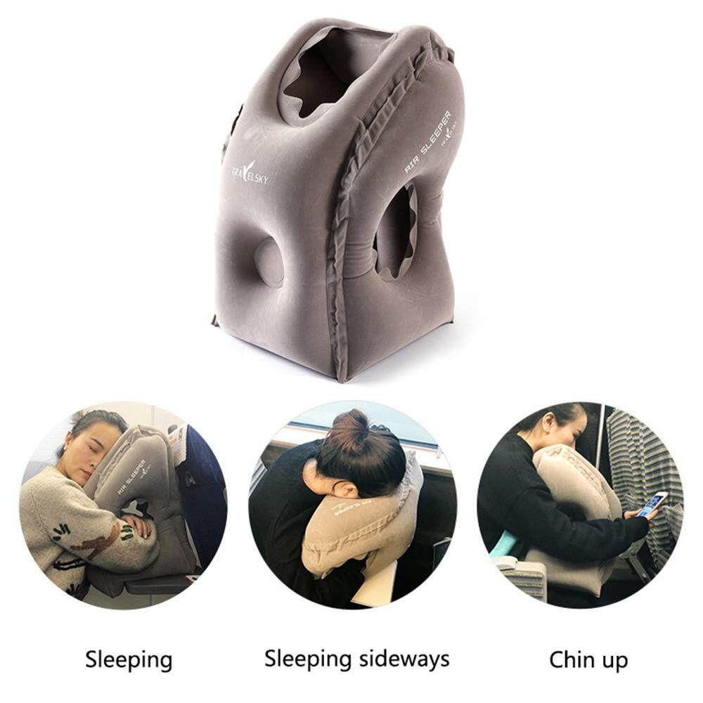 Leegoal The Most Diverse Innovative Inflatable Travel Neck Pillow On Airplane Footrest Flight Cushion For Kids Sleeping Easy - Intl By Leegoal.