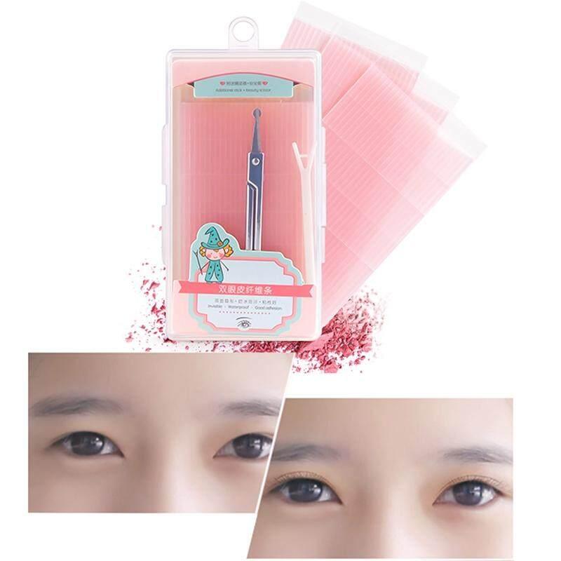 BZY 225 Pcs Magic Makeup Double Sided Adhesive Eyelid Fiber Invisible Eye Sticker Tape Eyelid String Tools Philippines