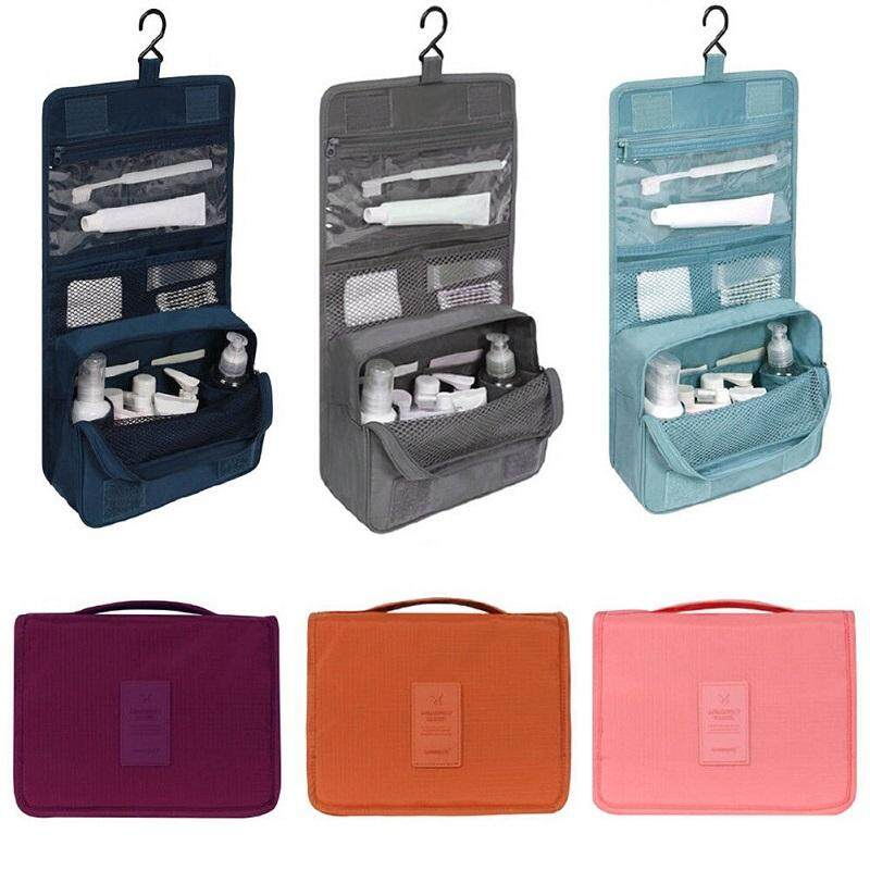 f566942dabdb Travel Cosmetic Makeup Toiletry Case Wash Organizer Storage Pouch Hanging  Bag