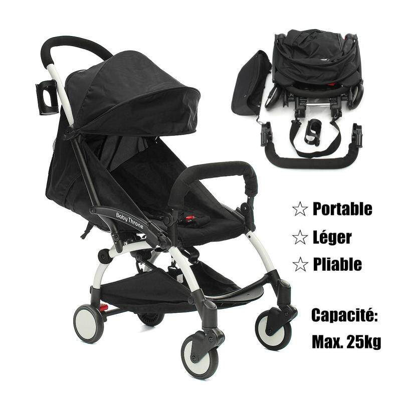 Portable Baby Stroller Folding Lightweight Toddler Travel Buggy Infant Carriage - intl Singapore