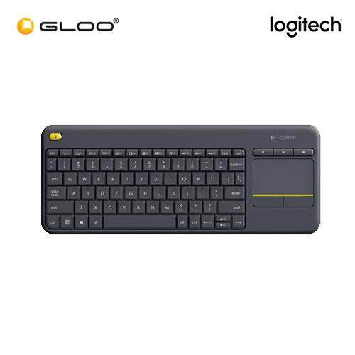 Logitech K400 Plus Wireless Touch Keyboard - Black