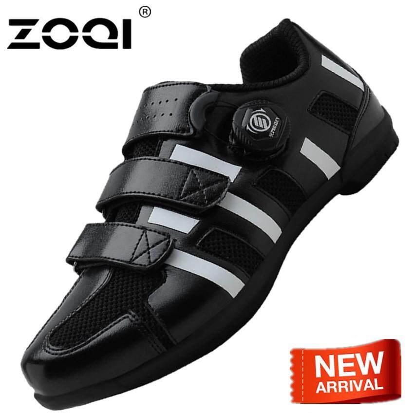 Zoqi รองเท้าแฟชั่นมีน้ำหนักเบาการดูดซับแรงกระแทก Couples รองเท้าปั่นจักรยานระบายอากาศได้ดีและสวมสบายแพคเกจรองเท้ากีฬามีน้ำหนักเบาลื่นพื้นรองเท้ายาง By Zoqi.