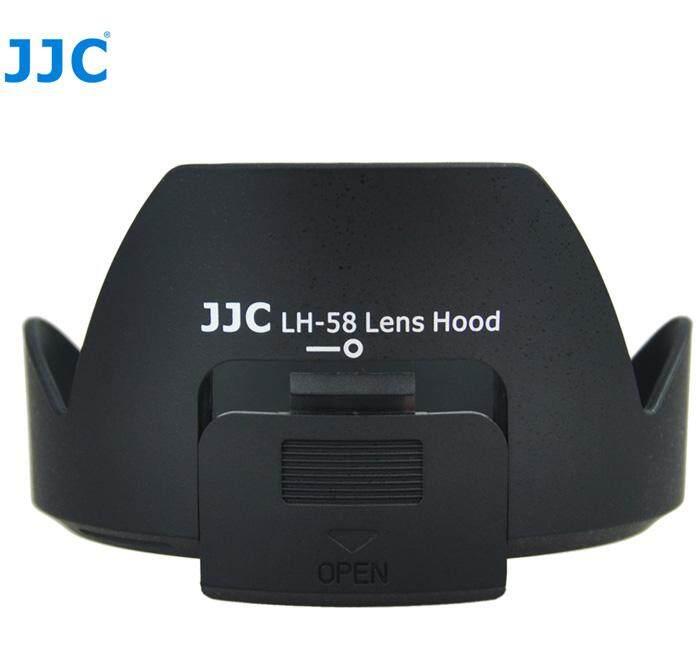 JJC LH-58 Lens Hood for Nikon AF-S DX NIKKOR 18-300mm f/3.5-5.6G ED VR Lens Camera Side Window for ND CPL( HB-58 )