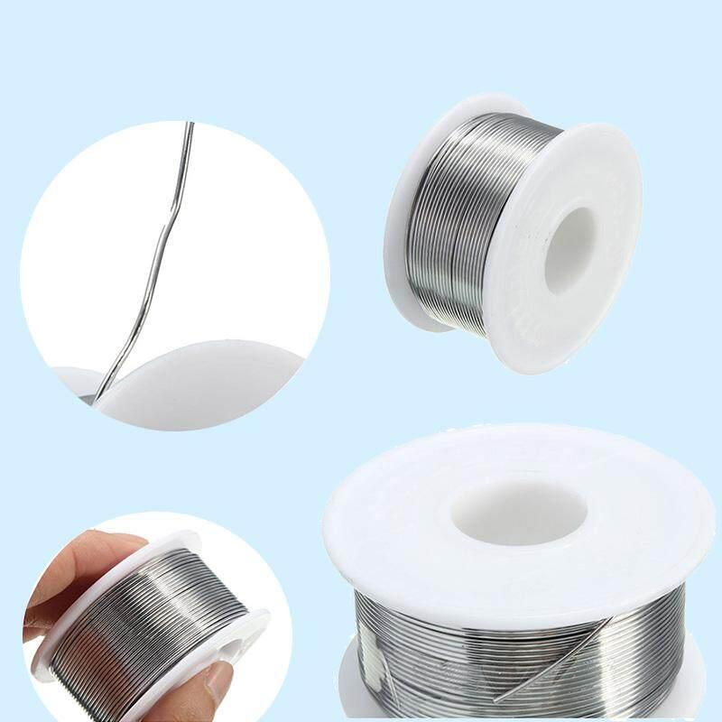 100g 0.8mm 60/40 Tin lead Solder Wire Rosin Core Soldering 2% Flux Reel Tube