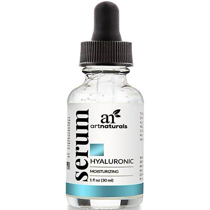 [ iiMONO ] ArtNaturals Hyaluronic Acid Serum Best Anti Aging Skin Care Product for Face Clinical Strength With Vitamin C Serum, Vitamin E and Green Tea -Reduces Wrinkles for Youthful and Radiant Skin, 1 oz.