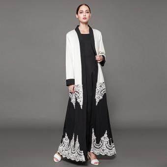 Pencarian Termurah Tf Fashion Muslim Elegan Hitam Dan Jubah Putih