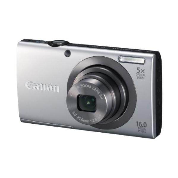 Canon PowerShot A2300 16.0 Kamera Digital MP dengan 5x Optical Zoom (Perak)