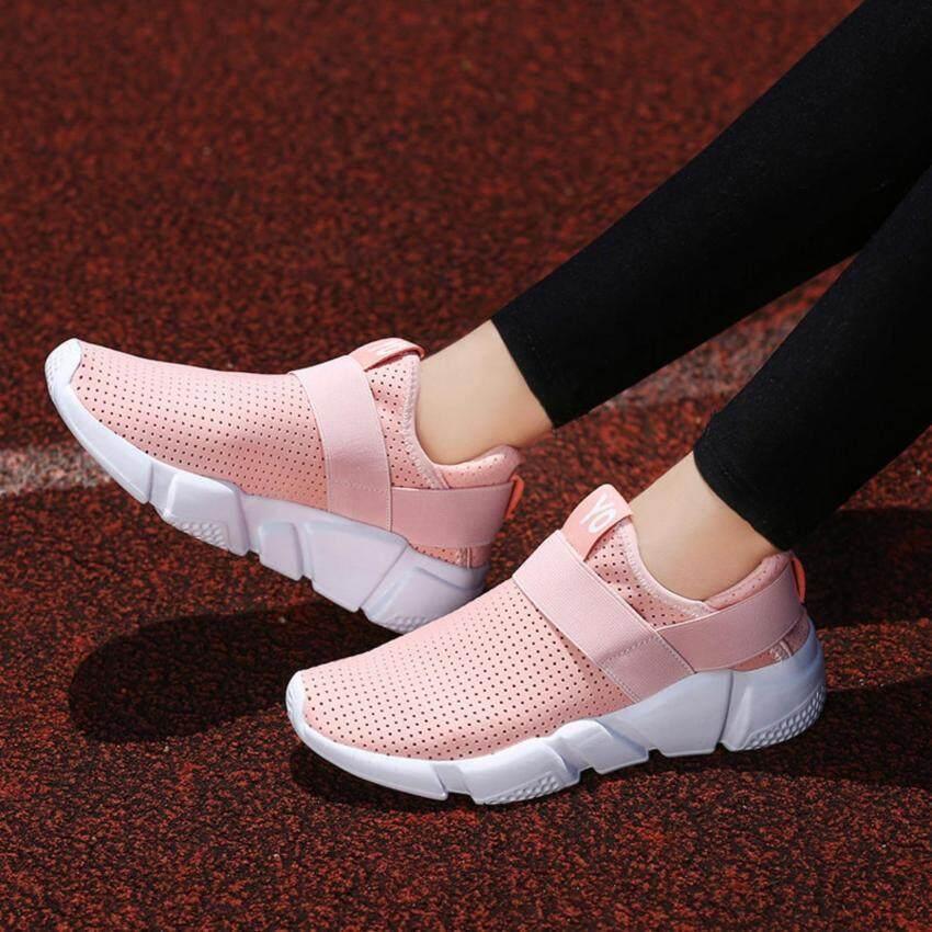 Zowie Fashion Wanita Sepatu Lari Sneaker Nyaman Pria Olahraga Sepatu Olahraga Wanita Krasovki Sepatu Kasual