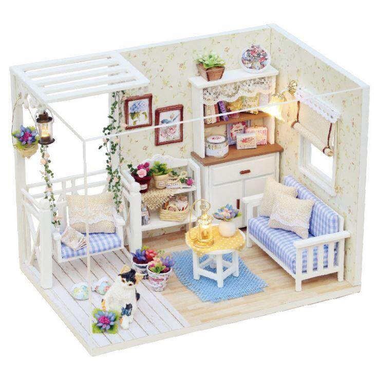 Diy Handmade Wooden Doll House European Miniature Shop By Yee Yee Baby House.