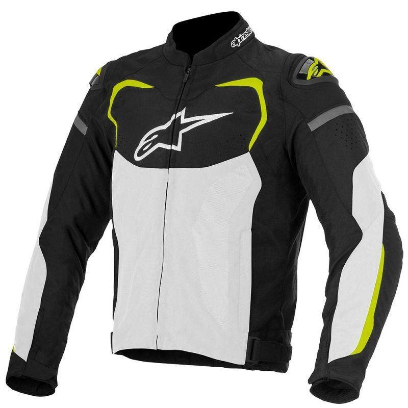ALPINESTARS T-GP PRO AIR TEXTILE JACKET (Yellow/Black/White) - {ORIGINAL]