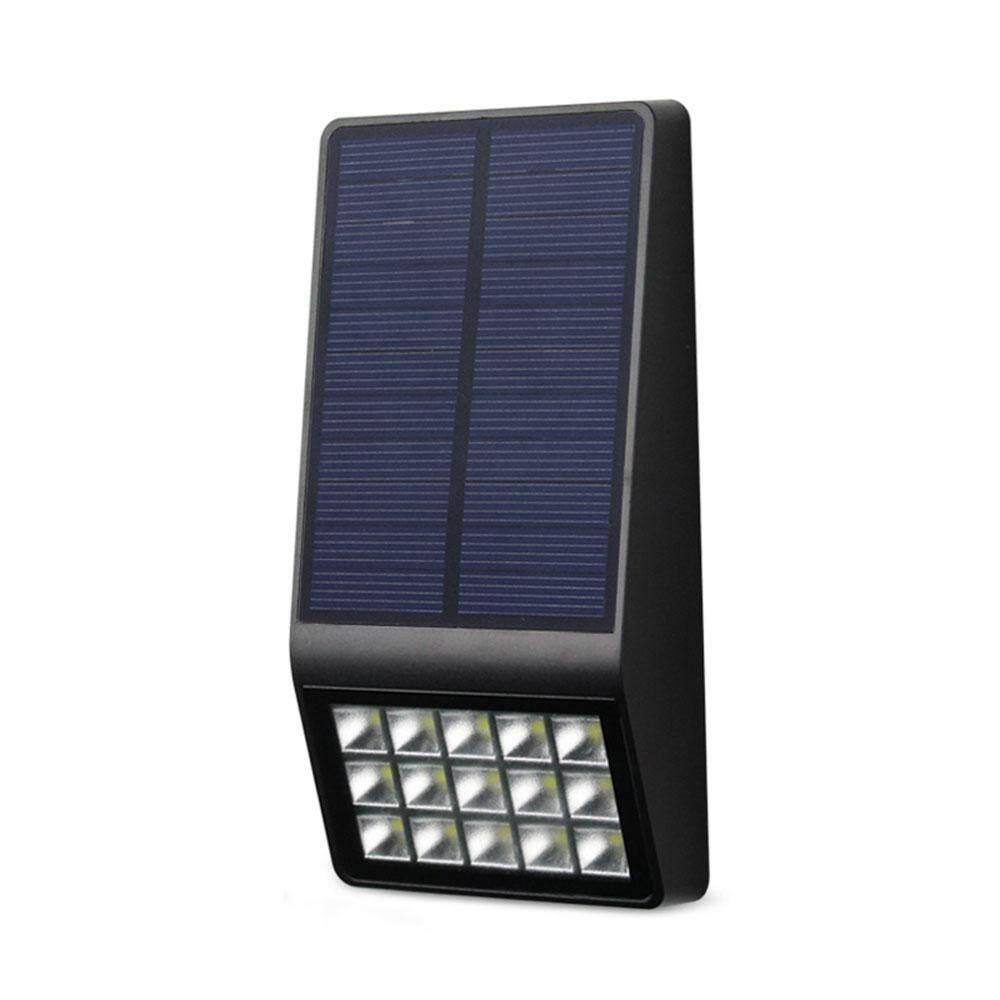 OrzBuy (in Stock) 15 LEDs Solar Light Solar Panels Power Radar Motion Sensor Wall Light Outdoor Waterproof Garden Light Night Security Solar Lamp (1pcs) - intl