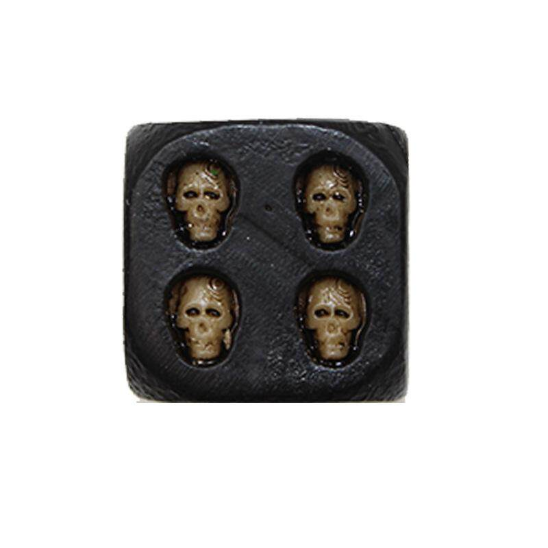 Hình ảnh 5PCS/set Resin skull Dice Creative Party Bar Entertainment Dice - intl