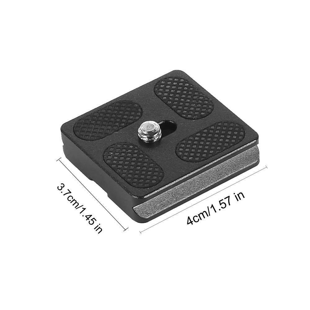 Queo Metal PU-40 Quick Release Plate for Benro B0 B1 B2 J1 N1 Tripod Ball Head - intl