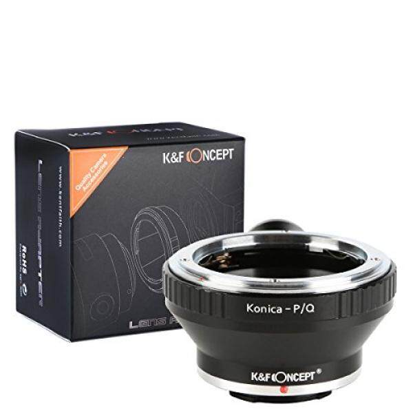 K&F Concept Lens Mount Adapter with Tripod for Konica AR Lens to Pentax Q-S1 Q10 Q7 Q DSLR Camera Camera Body