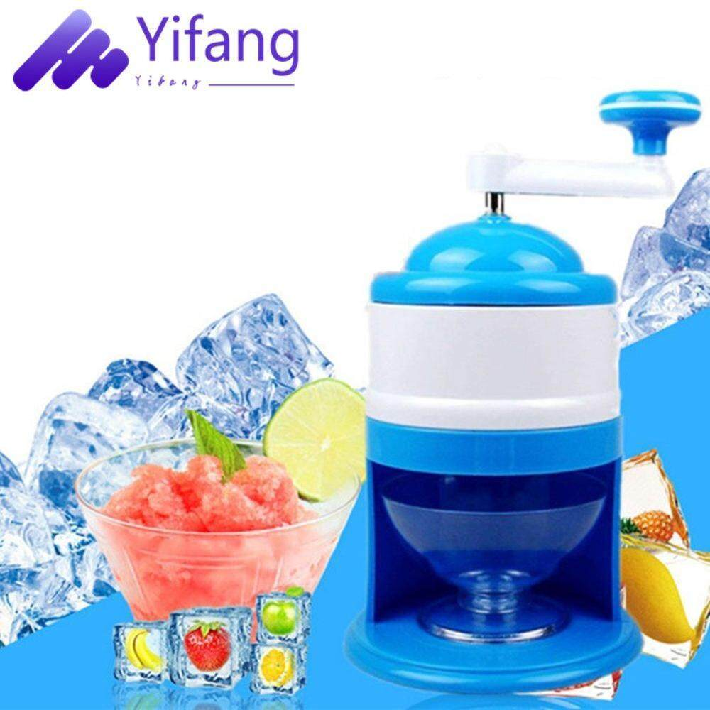 Yifang-Handhold Manual Ice Crusher Shaver Machine Grinding Snow Cone Maker Machine Household Party DIY Ice Cream Candy Frappe