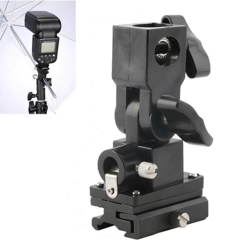 EVOL B Type Holder Flashlight Umbrella Holder Swivel Light Stand Bracket For Camera