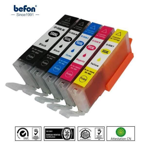 Bảng giá Befon Thay Thế Hộp Mực Cho Canon Pgi550 Cli551 PGI 550 CLI 551 Pgi-550 Cli-551 XL Hộp Mực Cho Pixma Ip7250 Mg5450 Phong Vũ