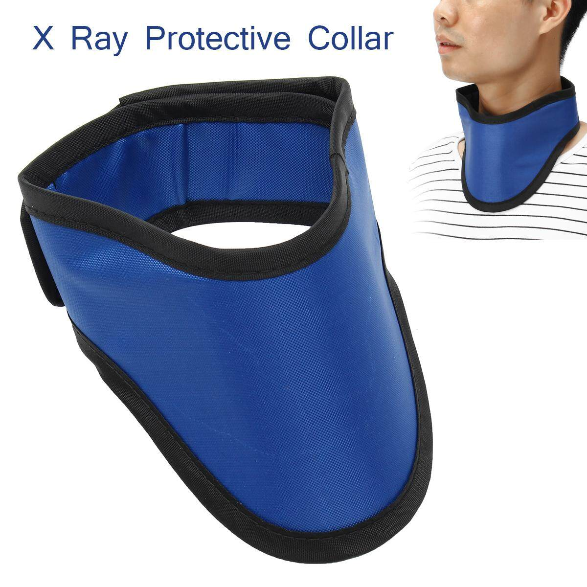 X Ray Protective Collar Lead Thyroid Collar Ct Radiation Shield Lead Neck Cover By Freebang.