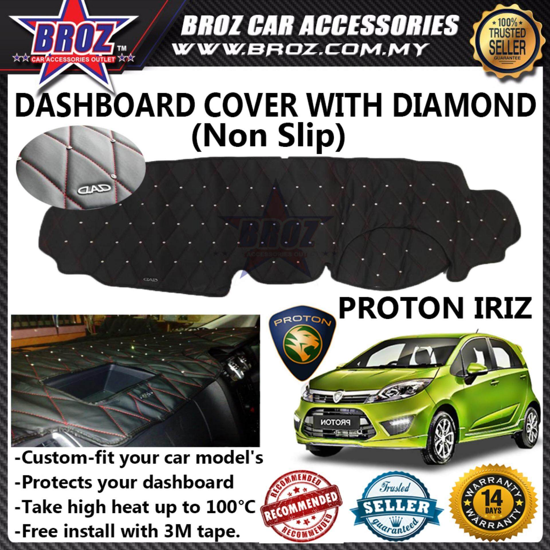 Non Slip Dashboard Cover with diamond for Proton Iriz