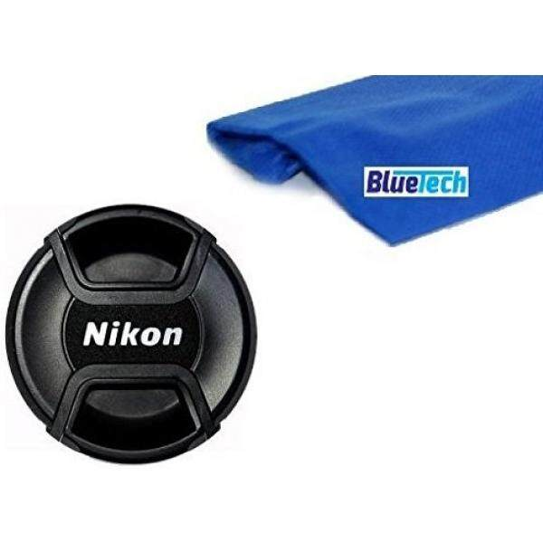 Nikon LC-52 Snap on Front Lens Cap + Microfiber Cleaning Cloth Compatible With 18-55mm, 24mm f/2.8D, 28mm f/2.8D, 35mm f/1.8G, 35mm f/2.0D, 40mm f/2.8G, 50mm f/1.4D, 50mm f/1.8D, 85mm f/3.5G, 55-200mm 52MM Lens Thread