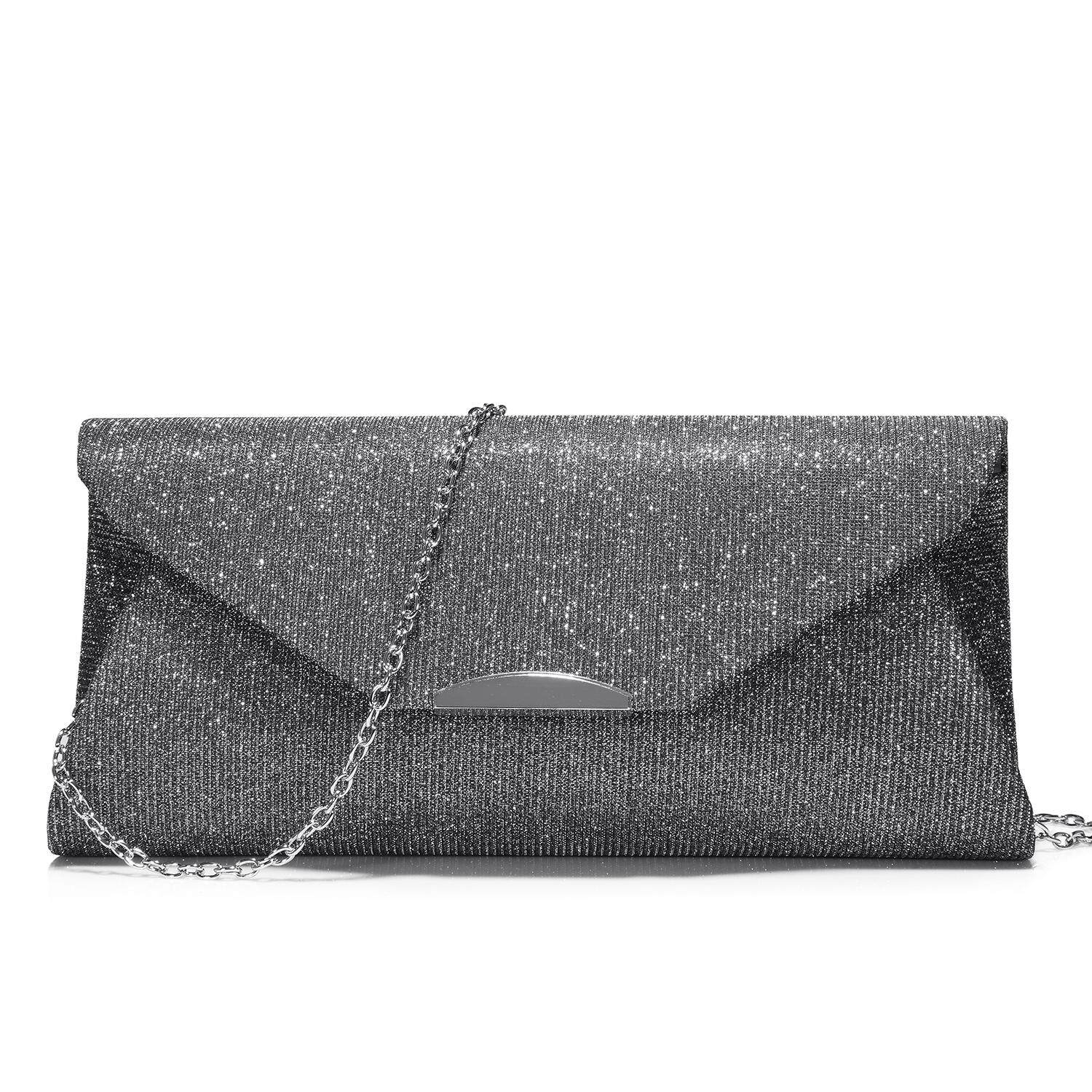 LOVEVOOK day clutch for women small women bags mini female crossbody bag  flash cloth chain strap cc9b54cac506c