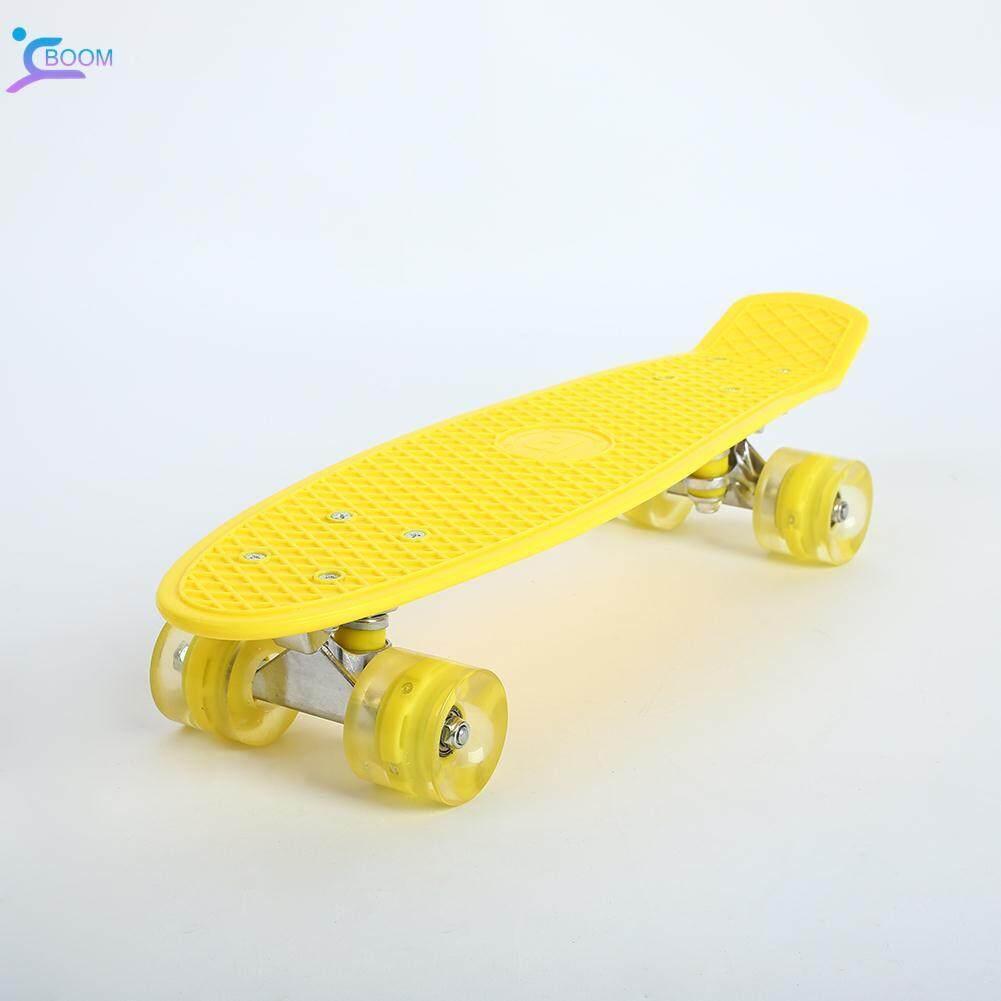 Boom Skate Board Deck Skateboard Durable 3color Single Rocker Pp Longboard By Boom Store Shop.