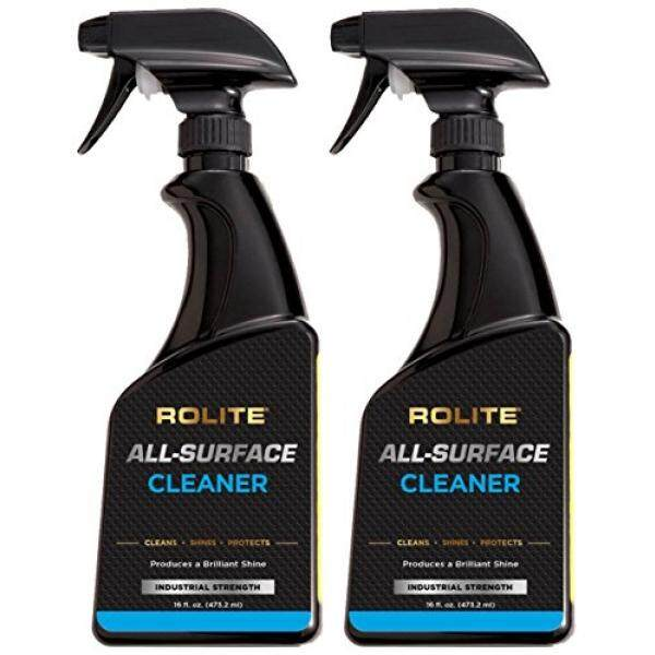 Rolite All-Surface Cleaner (16 fl. oz.) Instantly Cleans TV, Plasma, LCD, LED, iPad, iPhone, Laptop, Macbook, Computer Monitor, Tablets, GPS 2 Pack - intl