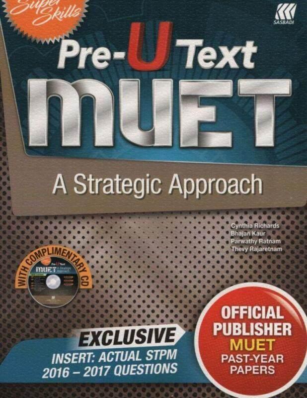 Super Skills Pre-U Text Muet A Strategic Approach Malaysia