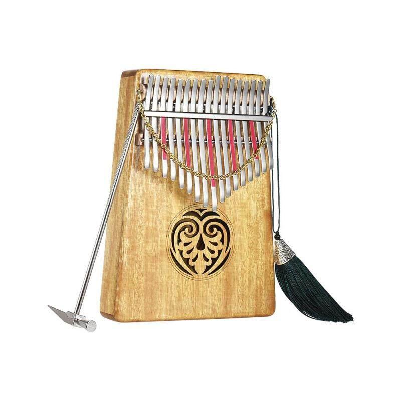 Kalimba Mbira Thumb Piano Sanza 17 keys Solid Wood Finger Piano with Carry Bag Malaysia