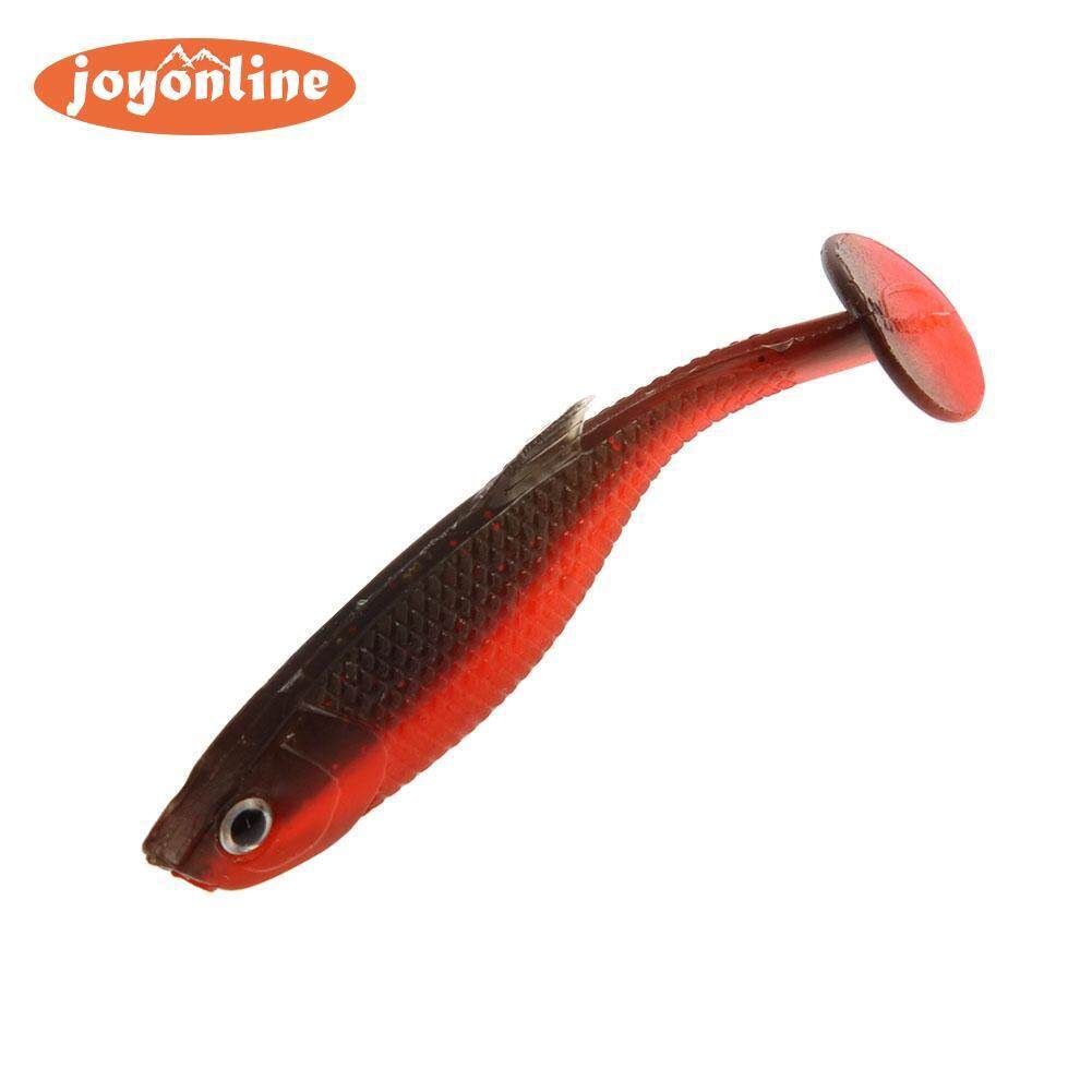 Outdoor 1pc 3g/6.5cm T-Tail Soft Fishing Lure Paddle Tail Artificial Bait