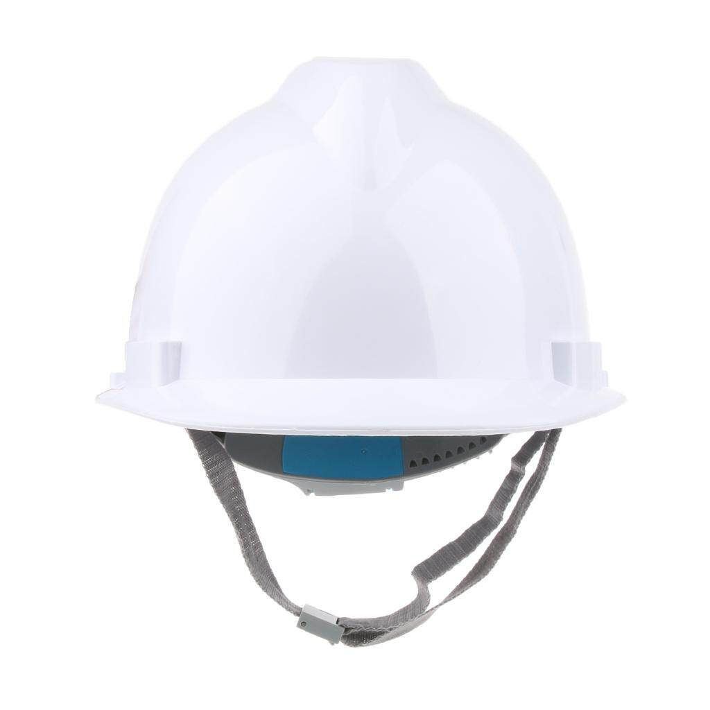 Miracle Shining Hard Hat Adjustable Forestry Safety Helmet Work Protective Bump Cap white