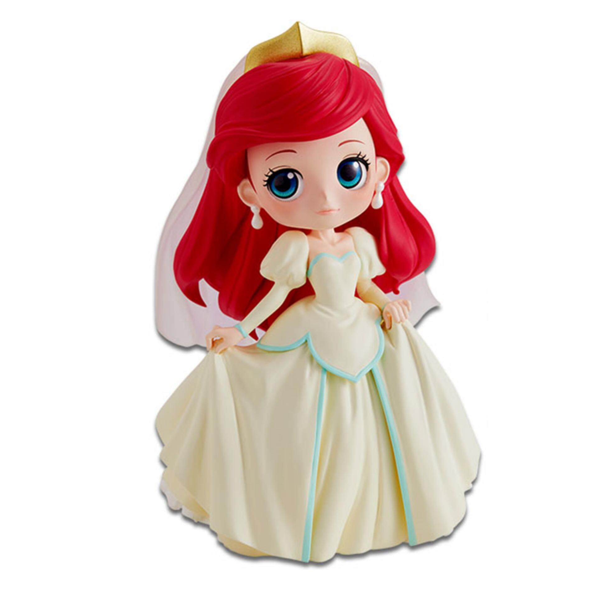 Banpresto Q Posket Disney Princess Figure Normal Version - Ariel Dreamy Style