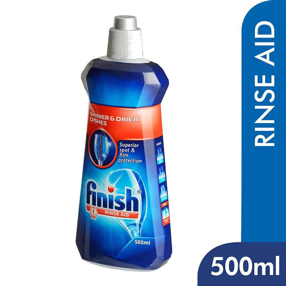 Finish Rinse Aid Shine & Dry Dishwasher Cleaning 500ml
