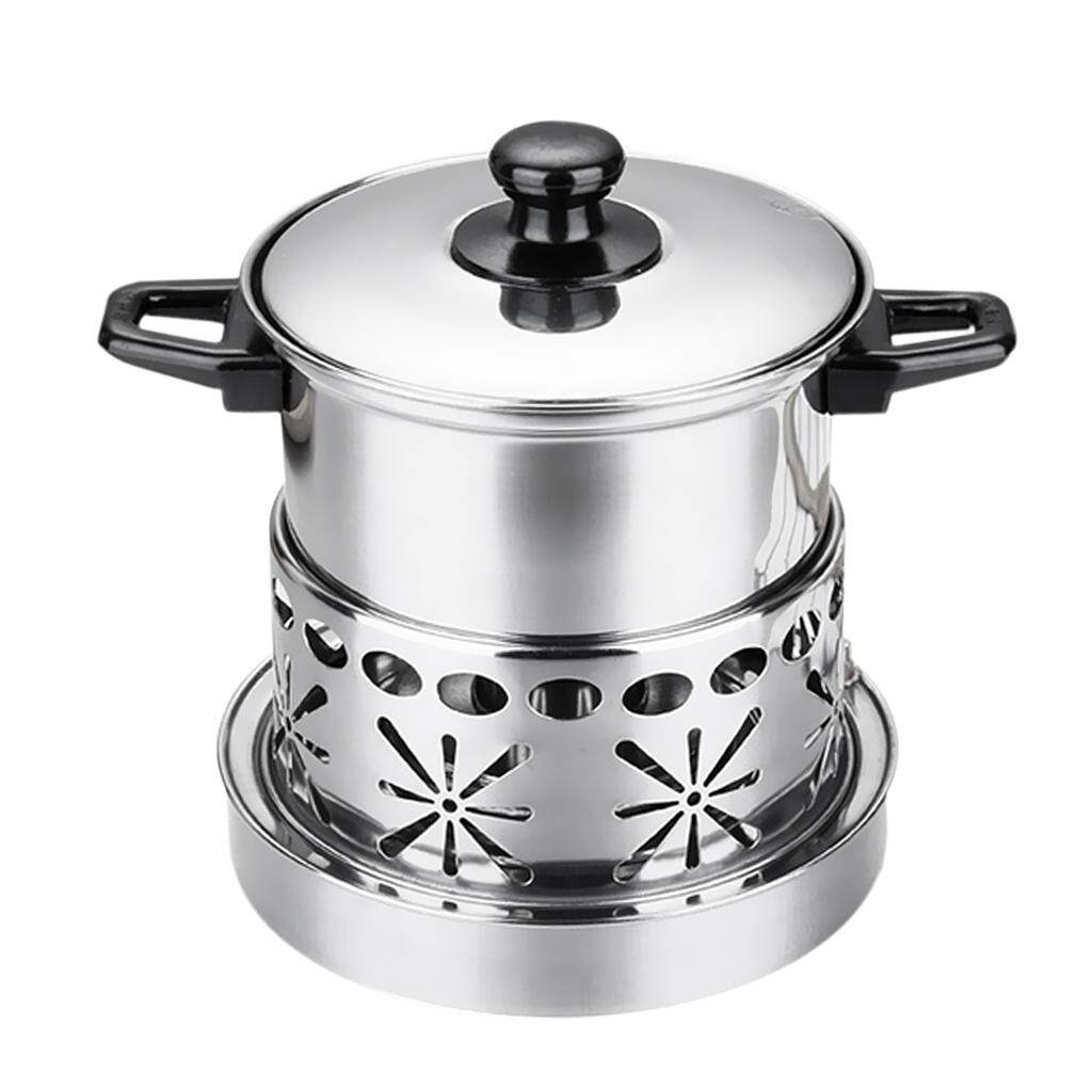 Magideal Alcohol Burners Stove Stainless Durable Alcohol Stove For Travel Camping By Magideal.
