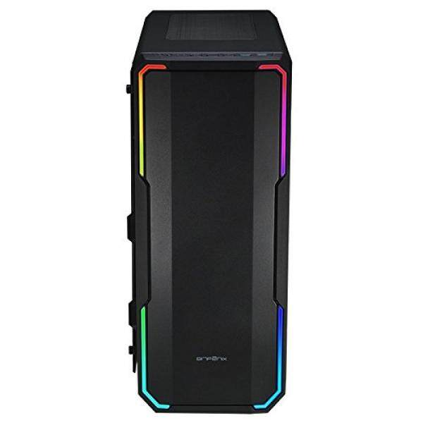[From.USA]BitFenix Enso Black, ATX Case Tempered Glass, Alchemy 3.0 Addressable Asus AURA SYNC RGB with Controller BFC-ENS-150-WWWGK-RP B074W58FF4 Malaysia