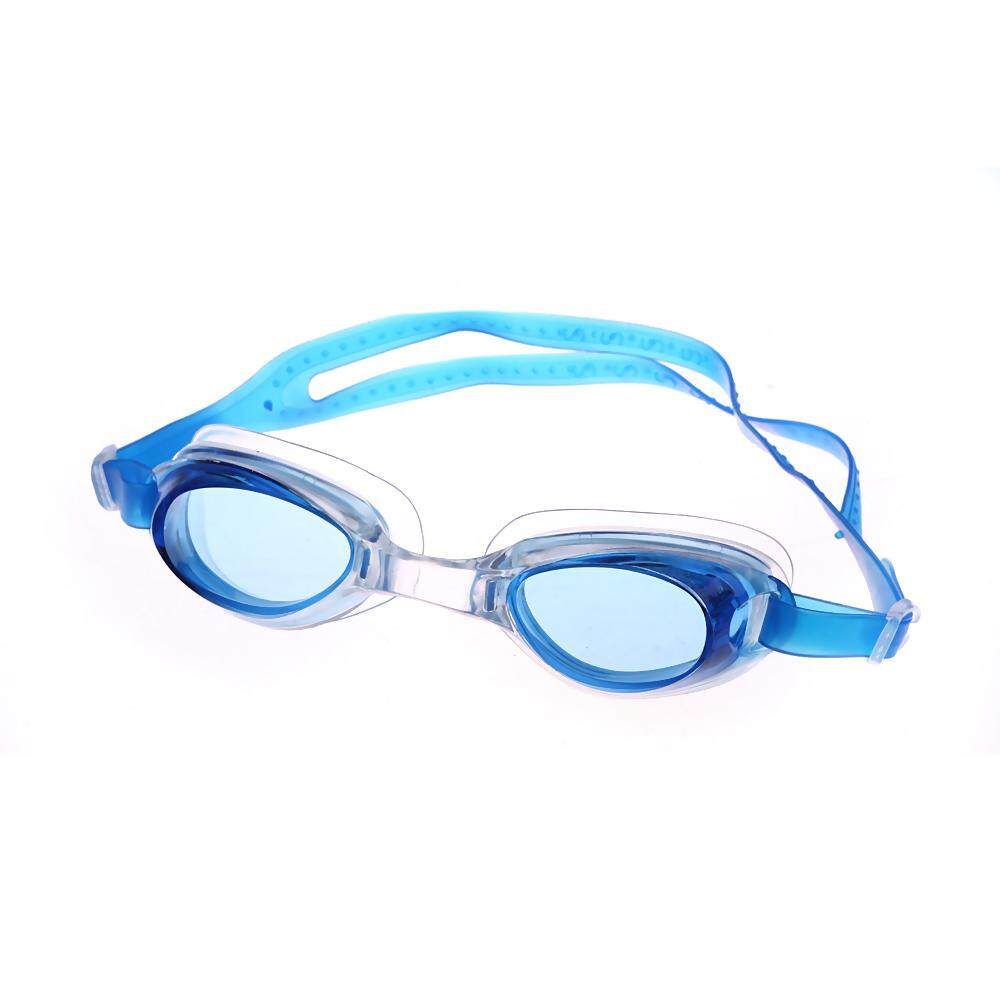 Sunyoo- Children Kids Anti-Fog UV Protection Waterproof Silicone Rubber Swimming Goggles -Blue