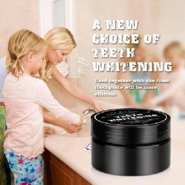Teeth Whitening Powder Organic Charcoal Bamboo Toothpaste 30g