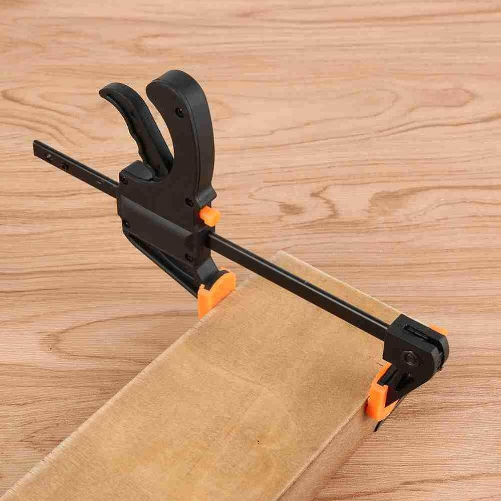 ZLOYI 8 Inch Quick Grip Woodworking Clamp Clip Heavy Duty Carpenter Tool - intl