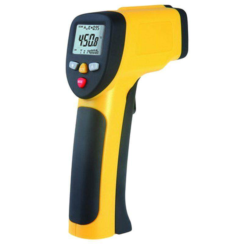 Xinsite Infrared Thermometer Digital Pyrometer IR Non Contact Temperature Lasing 1050 Celsius Yellow
