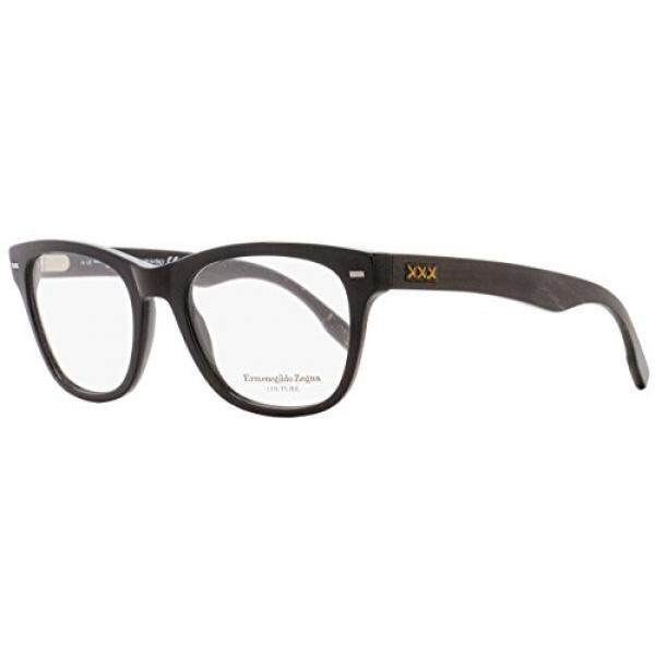 ZEGNA COUTURE Eyeglasses ZC5001 001 Shiny Black 52MM