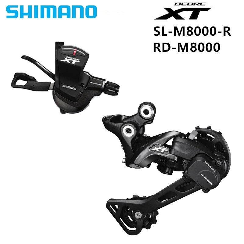 SHIMANO DEORE XT M8000 1x11 11S Speed Groupset Contains Shifter Lever &  Rear Dearilleur