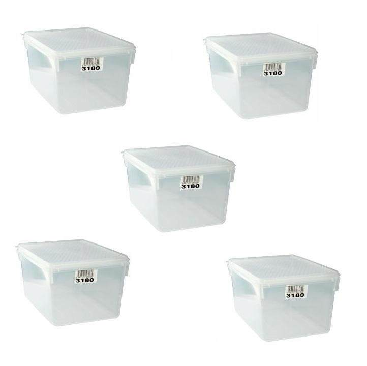 (LZ) 1.5 Lit Toyogo 31 series 80 Diamond Container set of 5