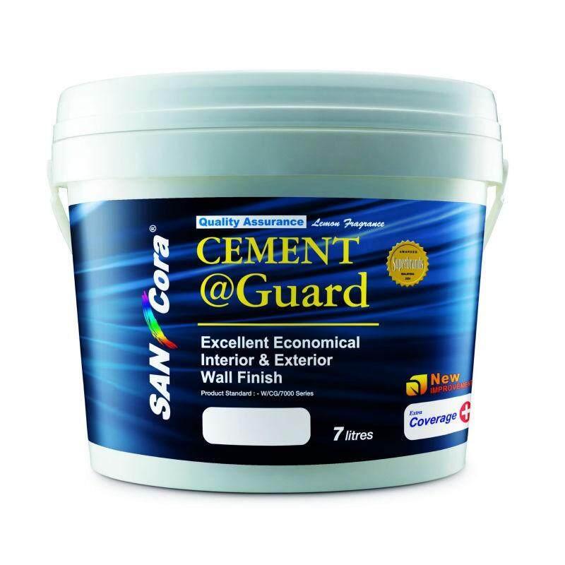 SANCORA CEMENT GUARD  EXCELLENT ECONOMICAL INTERIOR & EXTERIOR -7 LIT